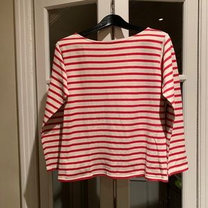 NWT Saint Laurent striped long sleeve top.Size XS